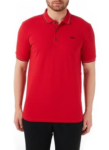 Hugo Boss  Pamuklu Slim Fit Polo T Shirt Erkek Polo 50448780 693 Kırmızı